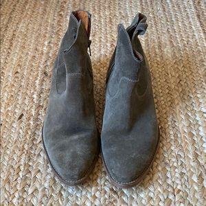 Madewell cowboy booties